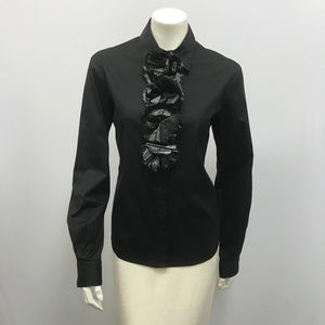 Moschino Cheap And Chic Top Tuxedo Style Size 10